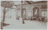 [Interior Wall with Murals, No. 76a]
