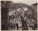 [Military Procession for the Inauguration of the Mexico, Cuernavaca & Pacific Railway]