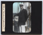 Lantern slide 'Phil. Bickel, Captain's Son'