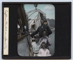 Lantern slide 'Captain Bickel and family'
