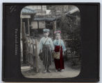 Lantern slide 'The school children'