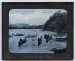 Lantern slide No. 144A 'Cormorant fishing at Gifu'