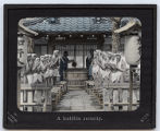 Lantern slide  No. 417A 'A buddhist austerity'