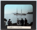 Lantern slide 'Baptism at Hirado'