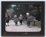 Lantern slide No. 14 'Snap-shots of Out-door Life in Japan'