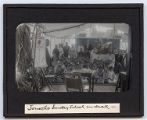Lantern slide 'Lonosho Sunday School on deck'