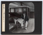Lantern slide 'Captain Bickel'