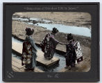 Lantern slide No. 2 'Snap-shots of Out-door Life in Japan'