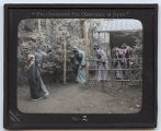 Lantern Slide No. 2 'The Ceremonial Tea Observance in Japan'