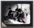 Lantern Slide No. 11 'The Ceremonial Tea Observance in Japan'