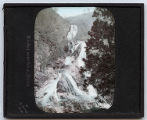 Lantern slide 'Kirifuri waterfall at Nikko'