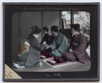 Lantern Slide No. 12 'The Ceremonial Tea Observance in Japan'
