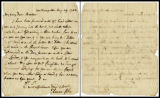 August 29, 1783 letter from Thomas Coke to James Creighton