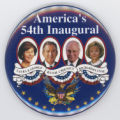 ['America's 54th Inaugural' Pin-Back Button]
