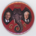 ['2004 GOP' Jugate Pin-Back Button]