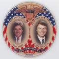 ['Our Candidates' Jugate Pin-Back Button]