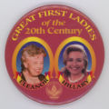 ['Great First Ladies' Jugate Pin-Back Button]