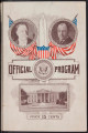 Official Program, Inauguration Ceremonies, March 4, 1909
