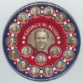 ['The 43rd President of the United States, George W. Bush' Campaign Button]