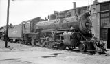[Atchison, Topeka, and Santa Fe, Locomotive No. 1077 with Tender]