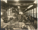 [Main Erecting Room in locomotive plant of the Morgan Engineering Co.]