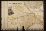 Map of the Texas & Pacific Railway and connections