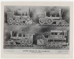 Graphic History of the Locomotive. Twelve Charts. Chart No. 7.
