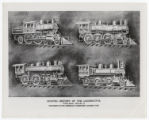 Graphic History of the Locomotive. Twelve Charts. Chart No. 12.