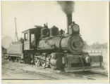 [Cassville & Exeter, Locomotive 20 with tender]