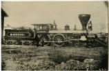 "[Chicago, Burlington & Quincy, ""Missouri"" locomotive with tender]"