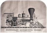 [''Nat. Wright'' locomotive, Cincinnati Locomotive Works]