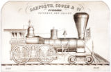 [''Cataract City'' locomotive, Danforth, Cooke & Co. Builders]