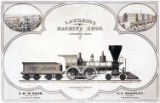 [''Abbott Lawrence'' locomotive and tender, No. 97, Lowell Machine Shop]
