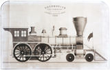 [''Leader'' locomotive, Lowell Machine Shop]
