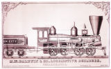 [''Iron City'' locomotive, M. W. Baldwin & Co. Locomotive Builders]