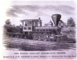 Ten Wheel Freight Locomotive Engine, As built by A. & W. Denmead & Sons, Baltimore, for...