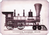 [''Washington'' locomotive, Globe Locomotive Works]