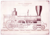 [Express passenger locomotive, Richard Norris & Son Locomotive Builders]