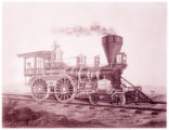 [''Sagua La Grande'' locomotive, Richard Norris & Son Locomotive Builders]
