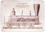 [''Union'' locomotive, Richard Norris & Son Locomotive Builders]