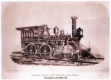 [''Wyoming'' Locomotive No. 3, Richard Norris & Son Locomotive Builders]