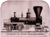 [''State of Maine'' locomotive, Portland Company's Locomotive Works]