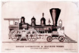 [''Thomas Rogers'' locomotive, Rogers Locomotive & Machine Works]