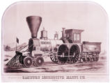 [''New England'' locomotive and tender, Taunton Locomotive Manufacturing Company]