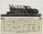 [Missouri Pacific, Locomotive 1198 and tender]