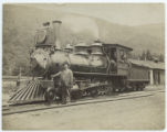 [Ulster & Delaware, Locomotive 1 and tender]