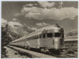 C.B.&Q.R.R., Original ''Denver Zephyr'', ''Silver Flash'' on Rear