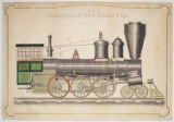Freight Engine By A. & W. Denmead & Son, Baltimore - Md.