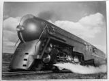 [New York Central Twentieth Century Limited steam locomotive 5453, Harmon, NY, negative 1823-12c]