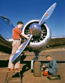 [Aviation Mechanics with Lockheed 12A Electra Junior]